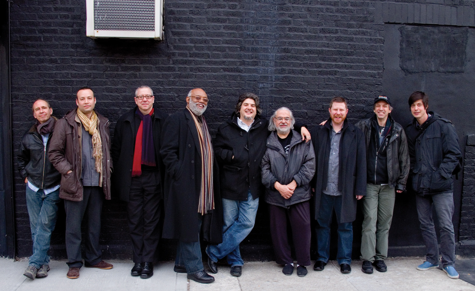 Jason Robinson's Janus Ensemble, photo by Scott Friedlander (c) 2012
